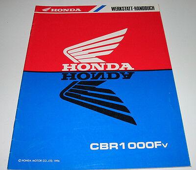 Hingebungsvoll Werkstatthandbuch Honda Cbr 1000 F Nachtrag Ergänzung Reparatur Buch Stand 1996!
