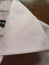 TOM FORD Pink Cotton Button-Down French Cuff Dress Shirt 15.50 US 39 EU$615