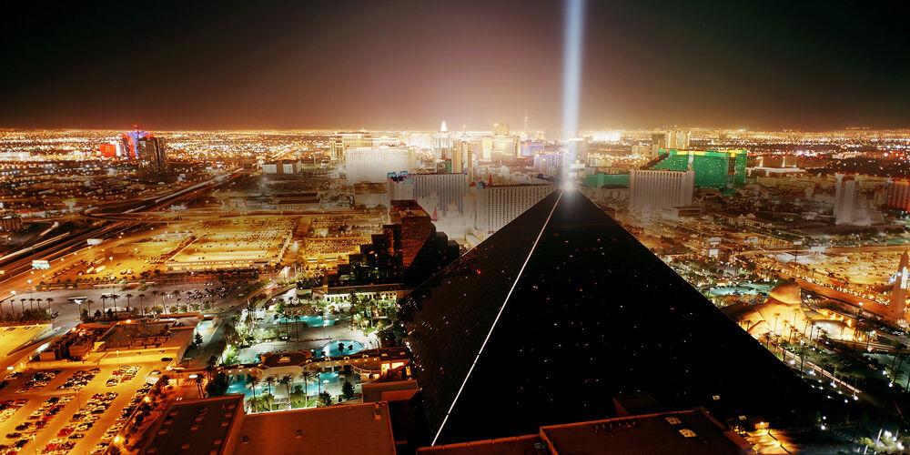 Las Vegas At Night - CANVAS OR PRINT WALL ART