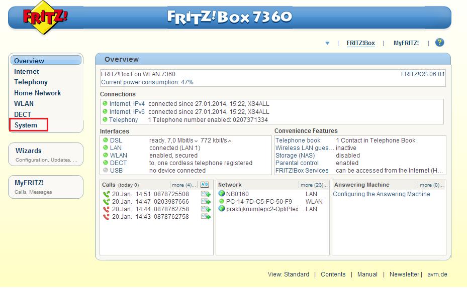 "AVM Fritzbox 7360 WLAN Router ✔ 300 Mbit//S /"" 2 Anni Garanzia It Frizbox 7360"