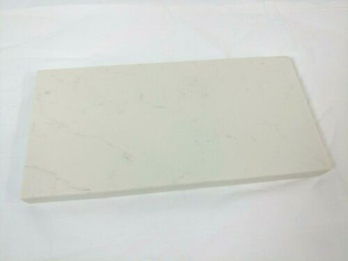 Quartz Stone Cutting Board cheese food platter subtle veining marble design 10x5