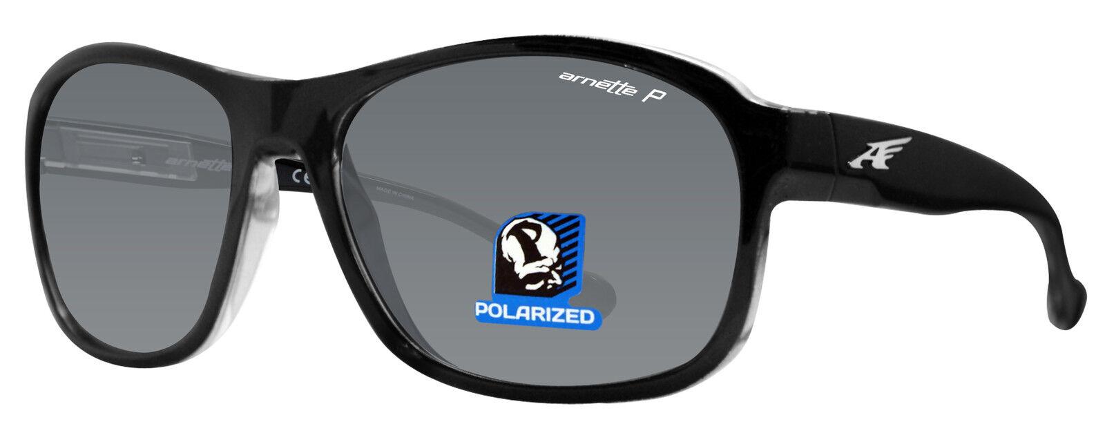 c75f7a3d71 Arnette Polarized Sunglasses Uncorked An4209 2159 81 Black grey Lens 59mm