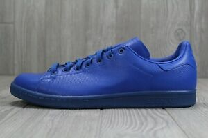 40-New-Adidas-Stan-Smith-Adicolor-Blue-Men-039-s-Shoes-Size-9-5-10-5-13-S80246