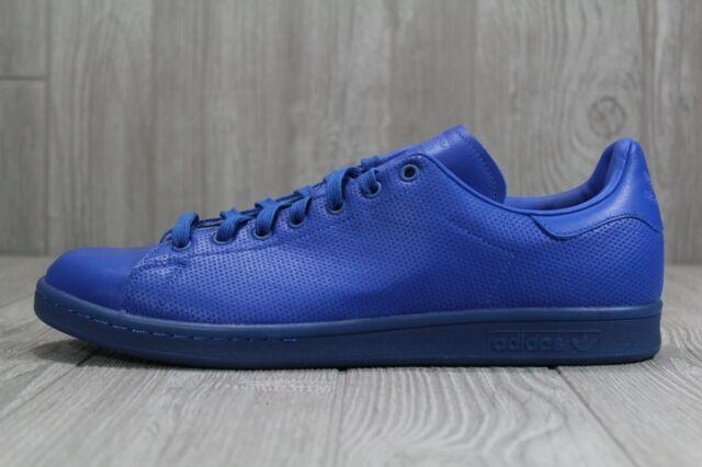 sports shoes 79289 4532a 40 Adidas Stan Smith Adicolor Blue Men's Shoes Size 9.5, 10.5, 13 S80246
