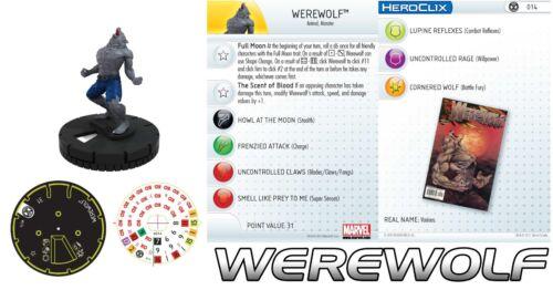 WEREWOLF #014 Amazing Spider-Man Marvel Heroclix