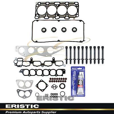 Head Gasket Bolts Set Fits 04-07 Mitsubishi Eclipse Lancer 2.4L SOHC 16V 4G69