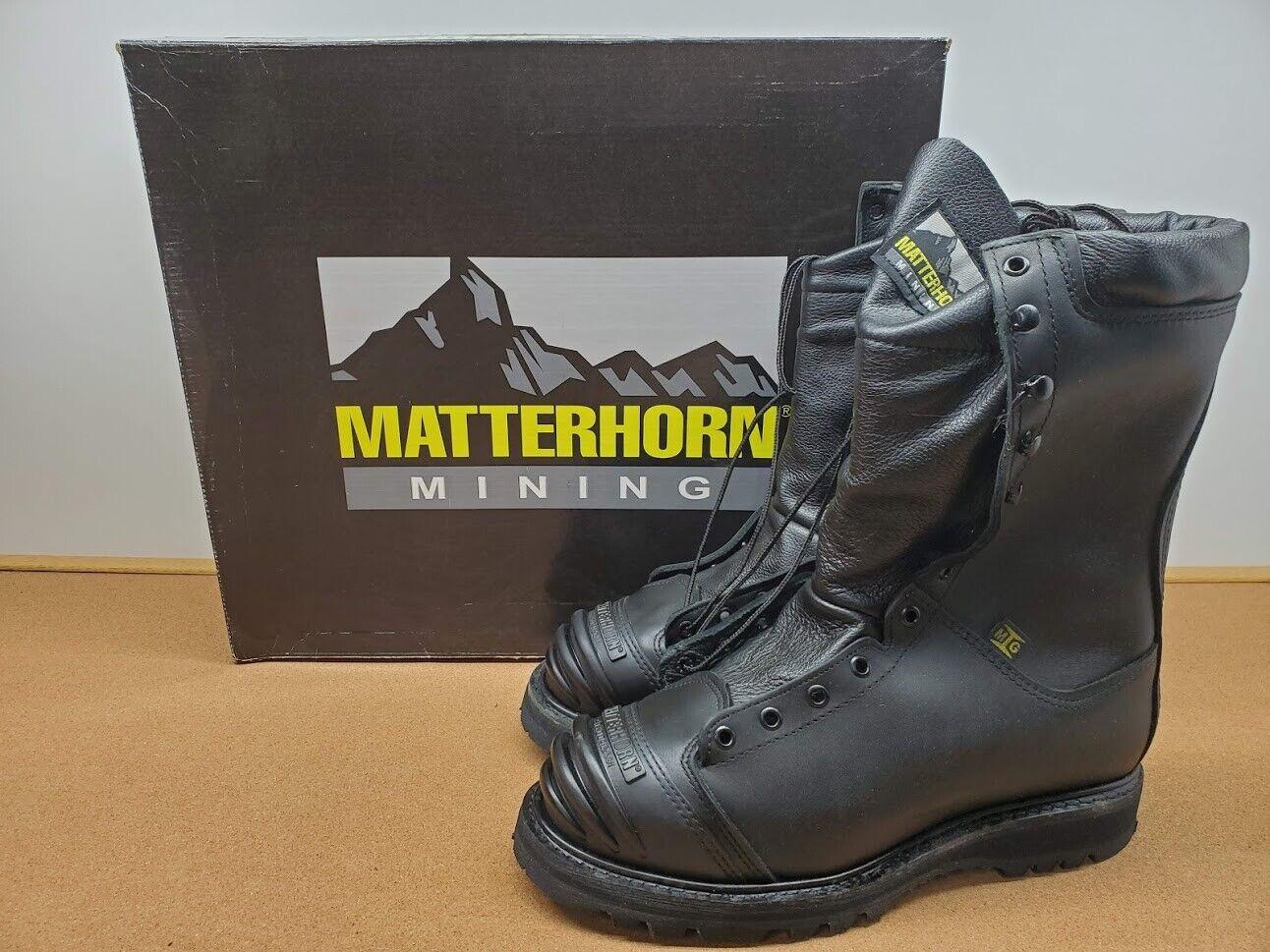NEW MENS MATTERHORN MINING BOOTS 10