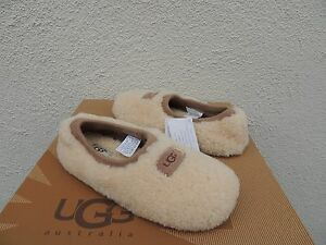 10e46882a45 Details about UGG NATURAL BIRCHE SHEEPSKIN BALLET TRAVEL SLIPPERS, US 7/  EUR 38 ~ NEW IN BOX