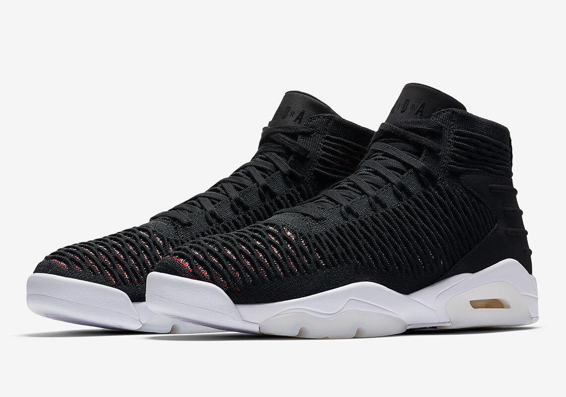 de nouvelles chaussures peu pour hommes et femmes, peu chaussures de temps flyknit rabais élévation 23 aj8207 023 air jordan noir - rouge - hommes réduction de prix b58c11