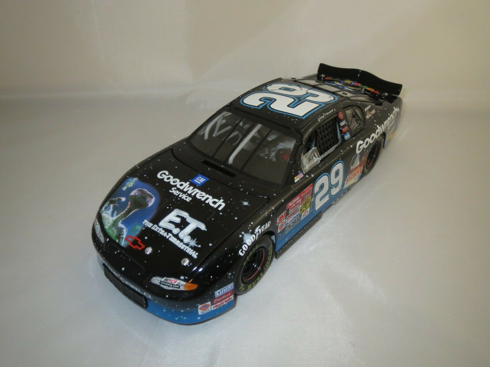 Action performance K. Harvick Monte Carlo ' 02 Goodwrench e.t. embalaje original