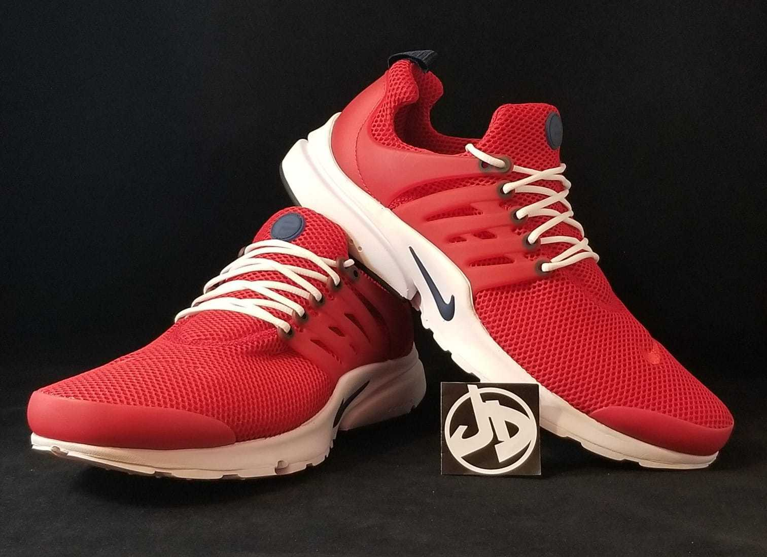 a4ffe216b NIKE AIR PRESTO ESSENTIAL GYM RED MIDNIGHT NAVY RUNNING ( 848187 606 ) SIZE  13