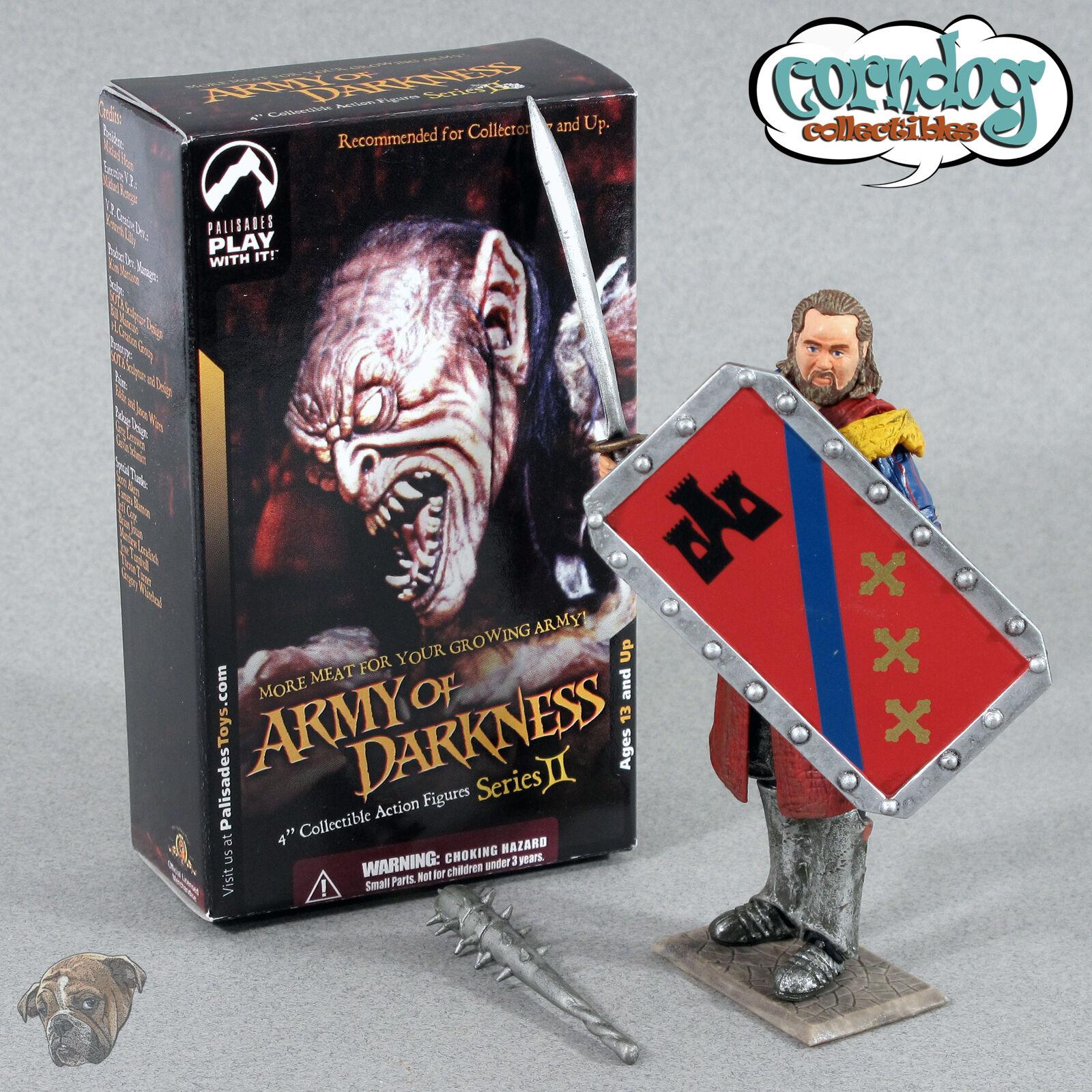 Armee der finsternis 2 palisades spielzeug herzog heinrich der rote ritter abbildung ash vs. evil dead