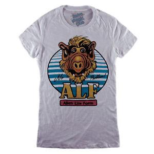 T Retro Title Shirt Form Tv 80's About Details Vintage Show Women Alien Life Original Alf Cartoon Series 29WEIHD