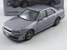 Nissan Skyline 25GT Turbo graumetallic,Tomytec Tomica Lim.Vint.Neo LV-N128a,1/64