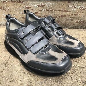 c3493dc9029c MBT The Anti-Shoe Black Walking Shoe Womens 7.5 Hook Loop 400150-20 ...