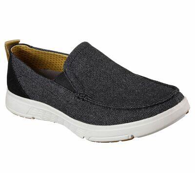 NEU SKECHERS Herren Sneakers Loafer Tweed Memory Foam MOOGEN IioZV