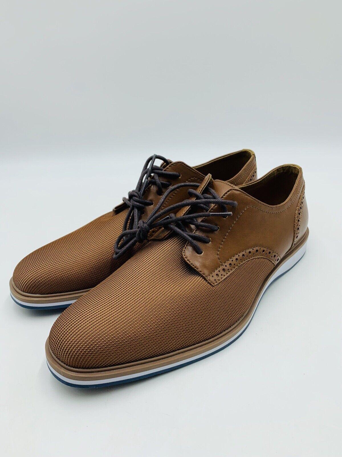 Aldo, hombre americano, 7,5, 1972. Zapatos de esmoquin de dos Colors marróns.