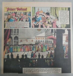 Prince-Valiant-Sunday-by-Hal-Foster-from-1-23-1972-2-3-Full-Page-Size