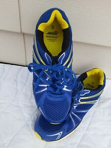AVIA Mens Enduropro Athletic Shoes Size 8 W/Comfort Lite Footbed Blue Yellow