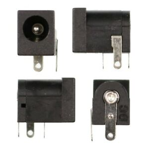 4x-5-5mm-x-2-1mm-PCB-DC-Power-Supply-Socket-Connector-Barrel-Jack