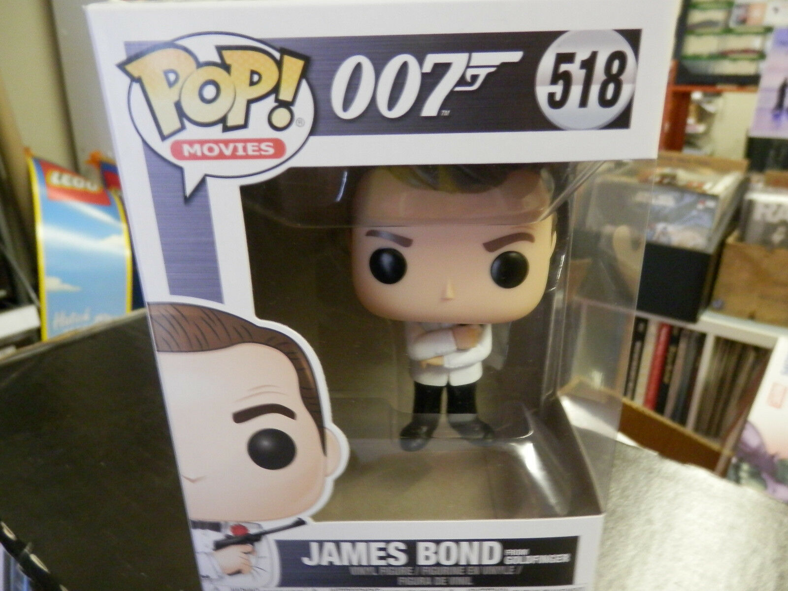 Movies POP 007 518 James Bond From Goldfinger FUNKO