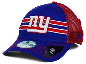New York Giants New Era NFL Frontband 9Forty Trucker Snapback Cap ... ba564c214