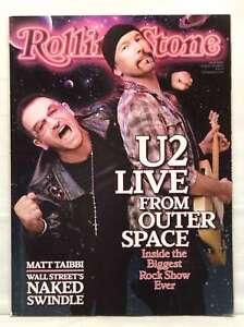 ROLLING STONE MAGAZINE ISSUE 1089 BONO U2 OCT 15 2009