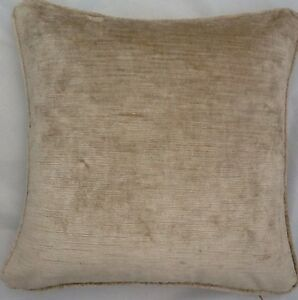 A-20-Inch-Cushion-Cover-In-Laura-Ashley-Villandry-Champagne-Velvet-Fabric