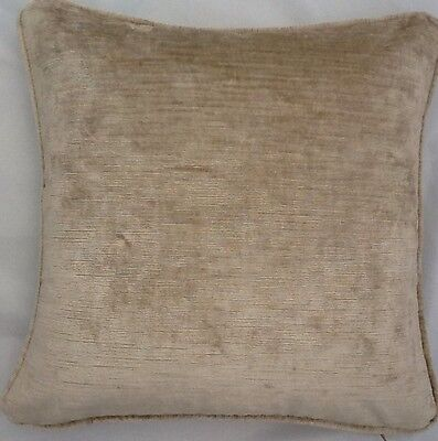 2 X 20 Inch Cushions And Inners In Laura Ashley Villandry Charcoal Velvet Fabric