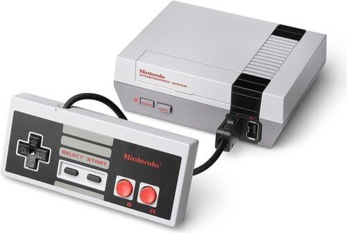 1 of 1 - Nintendo Entertainment System NES Classic Edition Grey Home Console + HDMI cable