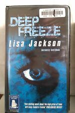 Deep Freeze by Lisa Jackson: Unabridged Cassette Audiobook (RR2)
