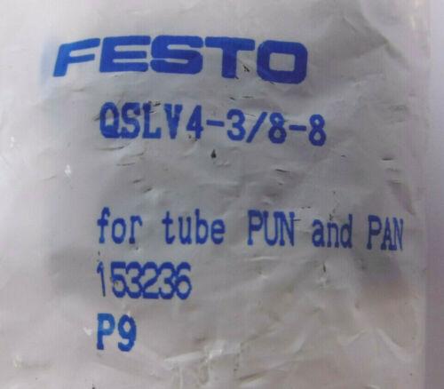 à Plusieurs Reprises de distribution FESTO QSLV 4-3//8-8 153236