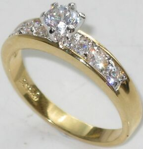 2CT-CLASSY-ENGAGEMNET-SIMULATED-DIAMOND-RING-FREE-MATCHING-BAND-INCLUDED