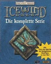 Icewind dale 1 + 2 + Addon Heart of Winter baldurs Gate usado/como nuevo