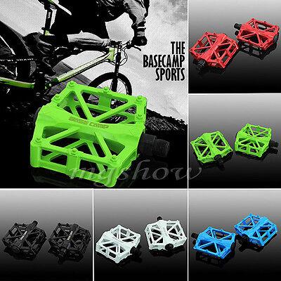 "Cycling Mountain MTB / BMX Bike Bicycle Bearing Alloy Flat-Platform Pedals 9/16"""