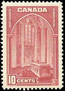 1938-Mint-NH-Canada-F-VF-10c-Scott-241-Pictorial-Issue-Stamp