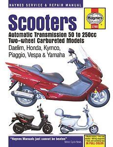 Haynes-Manual-2760-Twist-amp-Go-Scooters-Daelim-Honda-Kymco-Piaggio-Vespa-Yamaha