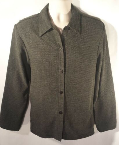 Viscose Grey Eileen Charcoal Med Fisher Size Jacket Euc Blend lana fpptSrEwxq