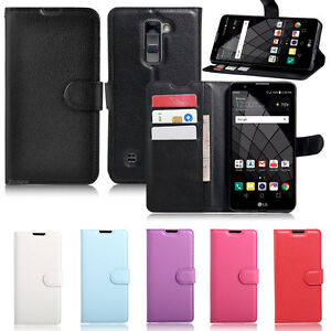 Premium-Leather-Wallet-Case-Cover-for-LG-Stylus-DAB-Screen-Protector