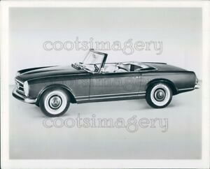 Details About Press Photo Artist Drawing Vintage Mercedes Benz Convertible Auto Sideview
