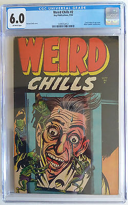 WEIRD CHILLS  2  CGC 6.0 - 1399102012 -  Hitler commits suicide story!