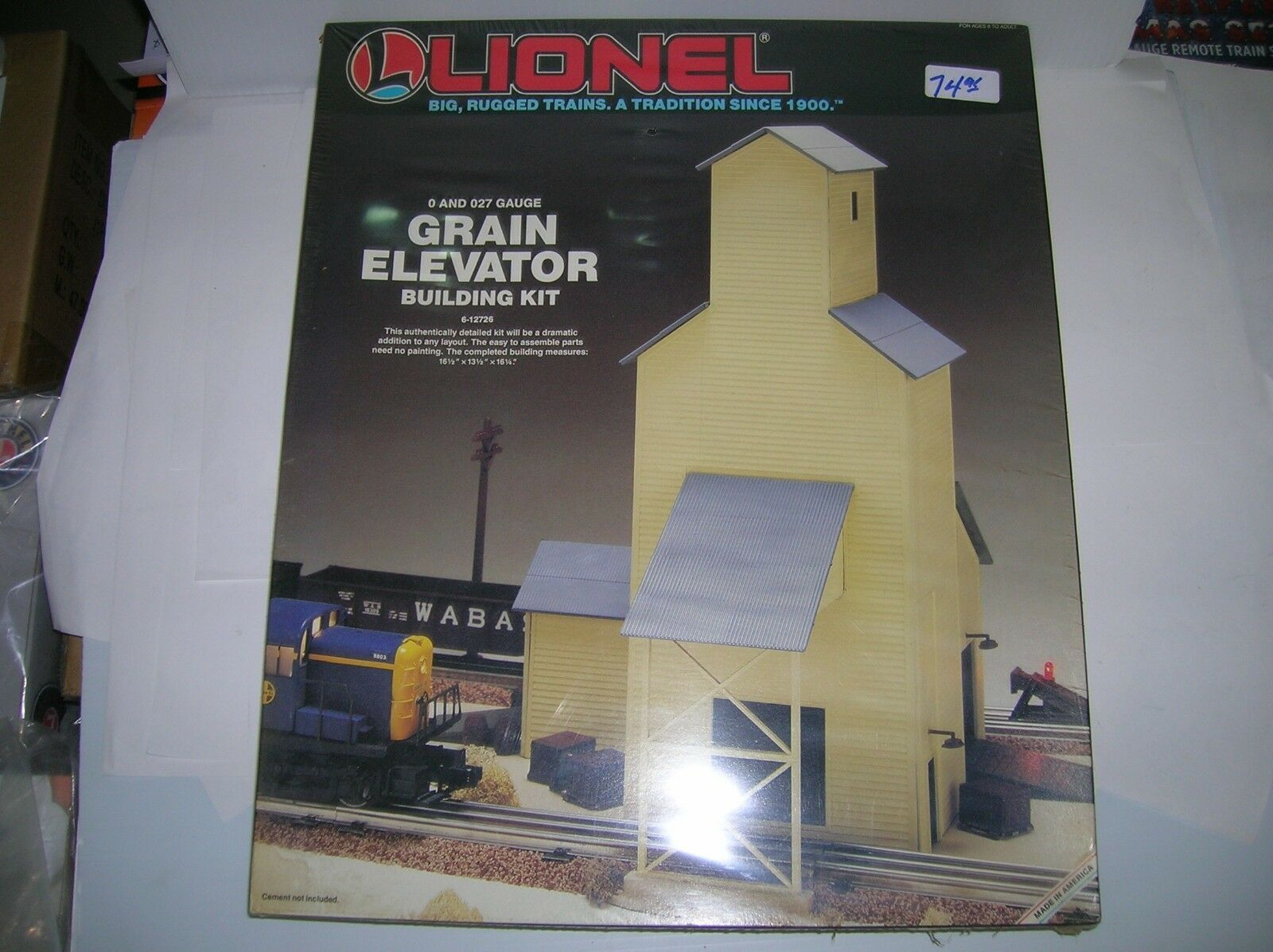 Lionel 612726 grana Ascensore KIT NUOVO SIGILLATO, LOTTO   16282