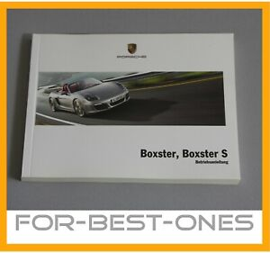 NEU-Porsche-Boxster-981-Betriebsanleitung-Bedienungsanleitung-Handbuch-Bedienung