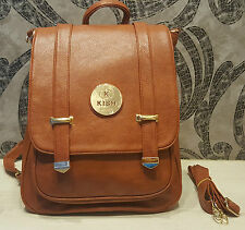 Kish Leather Branded Handbags Backpack Sling bags