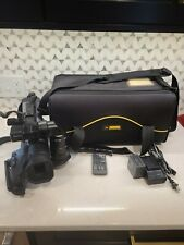 with SDC-26 Case Camcorders and Pro Video Cameras Panasonic AG-DVC60 Camcorder External Microphone XM-AD2 Dual Channel XLR-Mini Audio Adapter for DSLR/'s