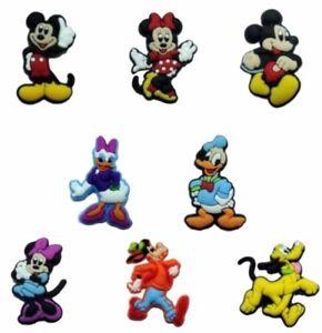 Disney Characters Set of 8 Mini PVC Magnets