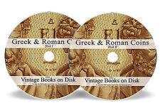 Rare Books Ancient Greek Greece Roman Coins DVD Silver Gold Medieval Album 263
