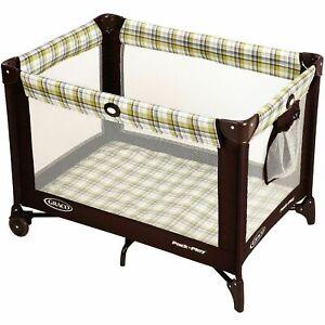 Graco Pack n Play Playard Baby Travel Portable on Go Playpen Ashford...