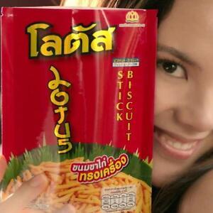 Details about DORKBUA LOTUS Amazing Thai Snack Biscuit Stick Sweet & Spicy  Chicken Flavor 55g