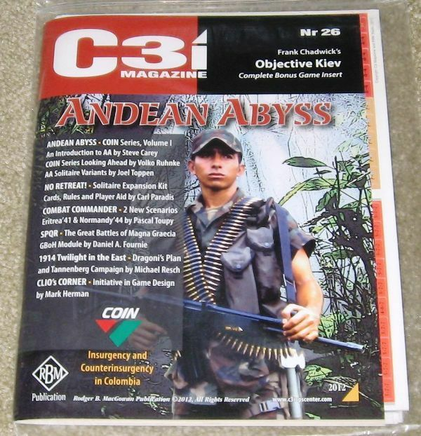 NEW, GMT C3i  26, Andean Abyss, w/ Objective Kiev & Twilight in the East module